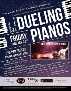 2018 Dueling Pianos