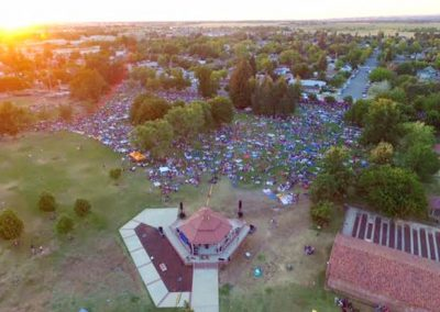 Lincoln 4th arial view