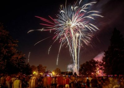 Lincoln 4th fireworks